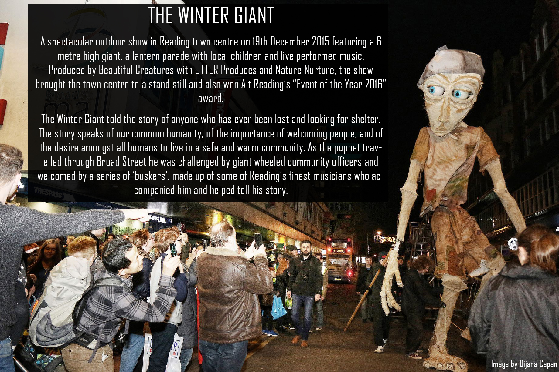 The Winter Giant - Reading